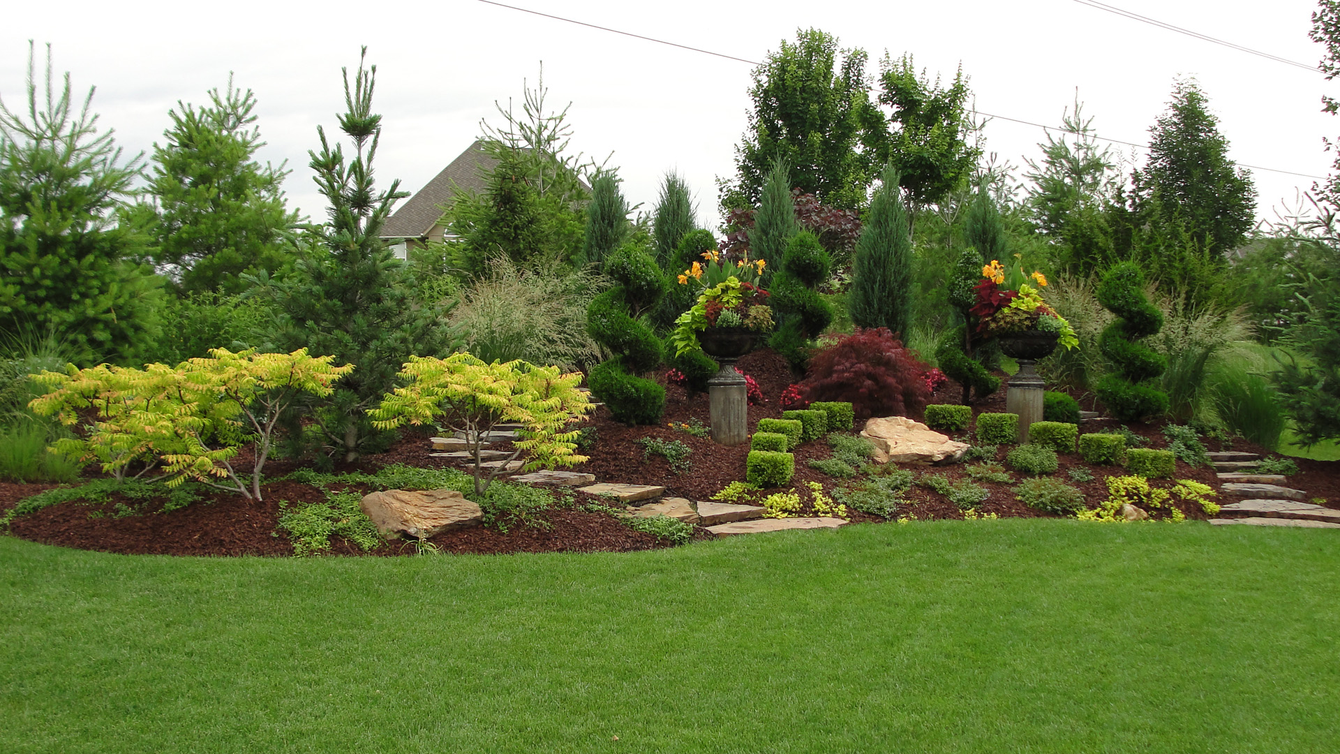 Gartengestaltung Ideen Hügel Professional Landscaping From Rosehill Gardens Of Kansas City