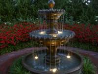 Garden Fountain Laura Conyers Smith Rose Garden Fountain ...