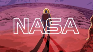 NASA released a collection of retro-styled space travel posters.