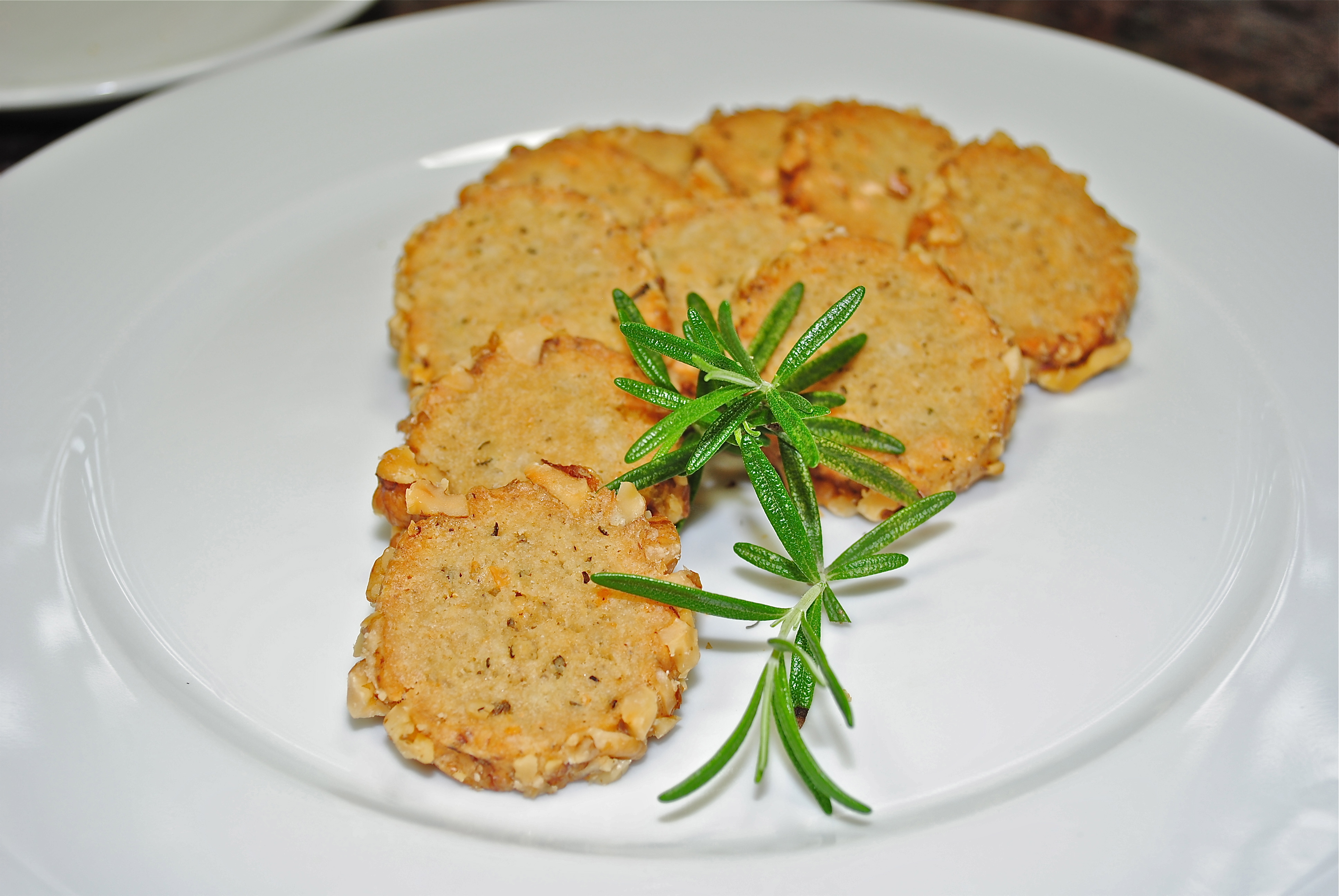 Rosemary Blue Cheese Wafers Rosemary And The Goat