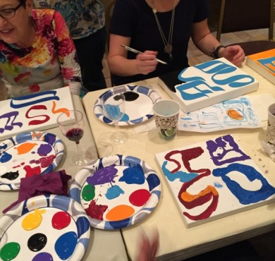 Pictures from Painting & Pinot
