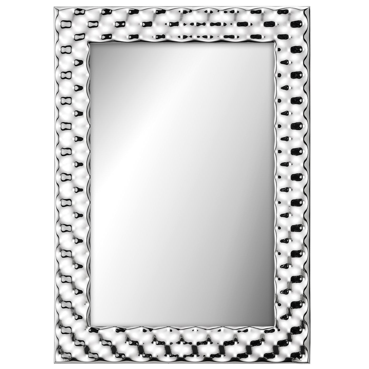 Spiegel Online Shop Silver Collection Move Mirror 35 X 45 Cm