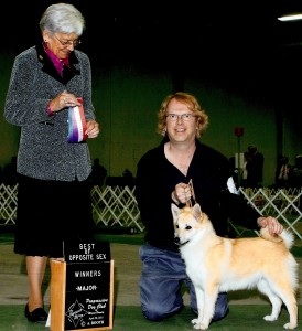 Cherokee wins an AKC Major Event.