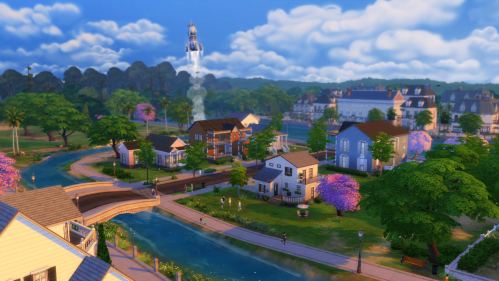 The-Sims-4-Willow-Creek-Rocket