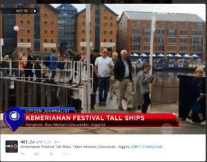 Festival Tall Ships Gloucester 2015