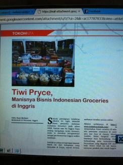 Jual makanan Indonesia di Inggris