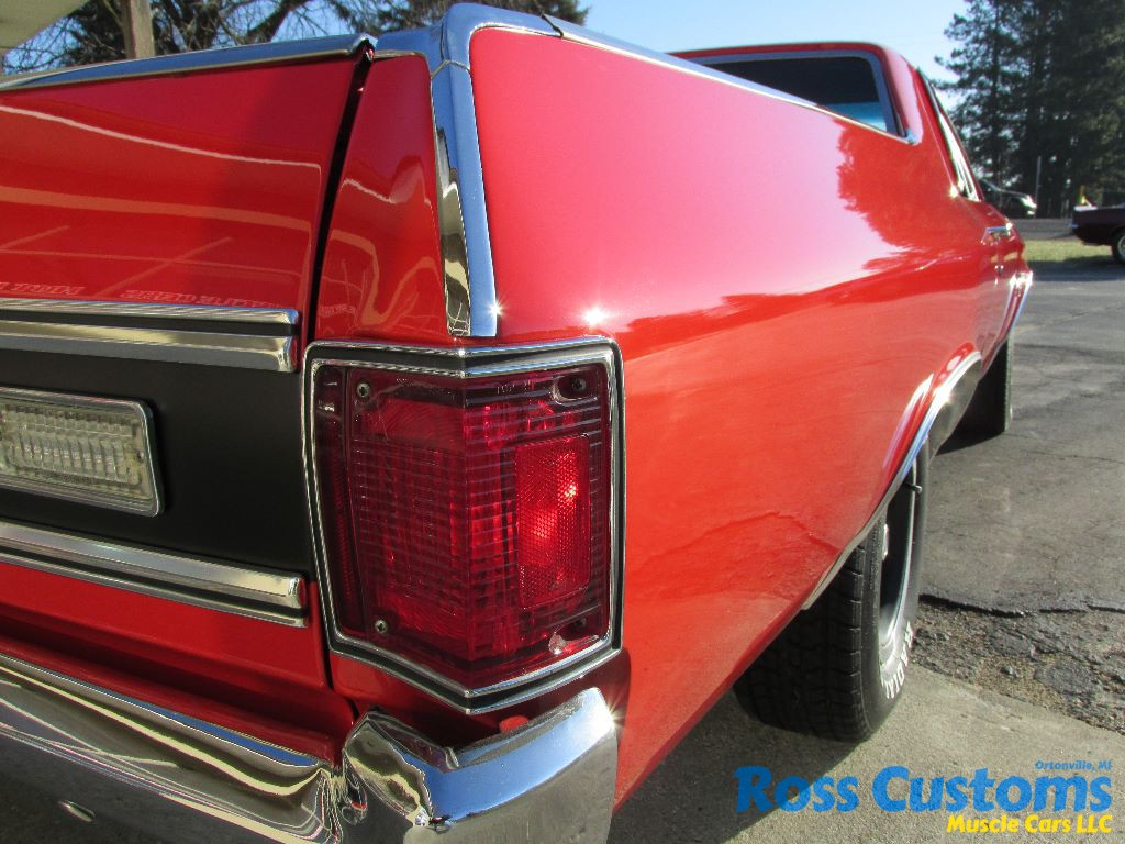 1970 El Camino Led Tail Lights Sold Sold 1972 Chevrolet El Camino Ss S Matching Big Block