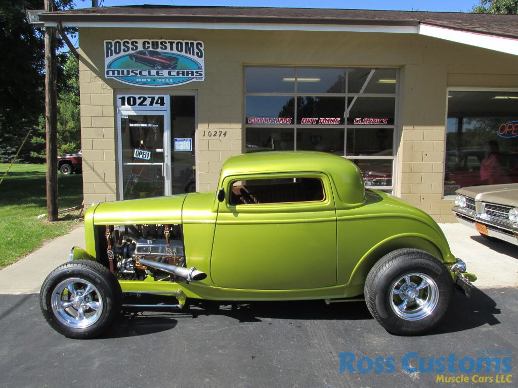 Coupe Ford Sold Sold 1932 Ford 3 Window Coupe Street Rod Ross Customs