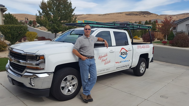Ross Heating and Air Conditioning Owner