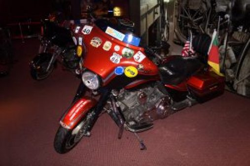 Esta Harley cruzou as Américas de Norte a Sul