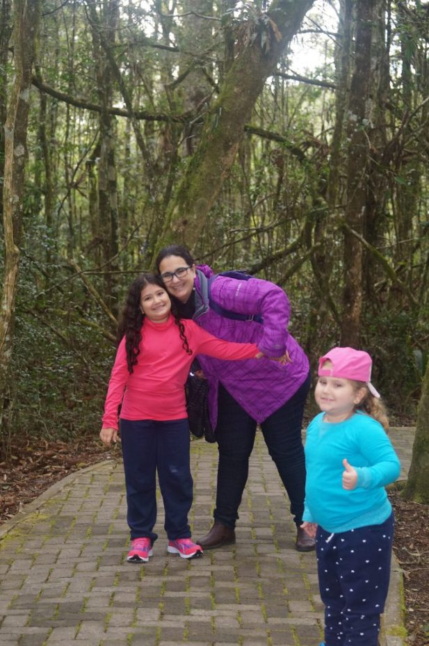 Trilha da=o teleférico da Cascata do Caracol - Aprovado Rota Kids!