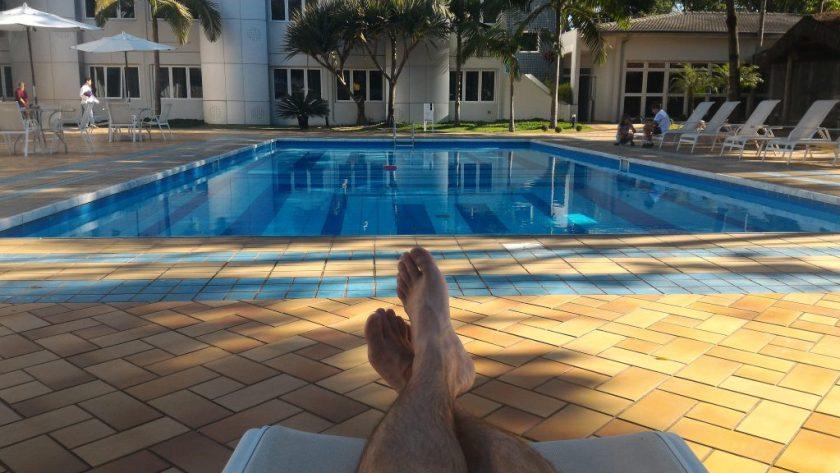 Relax na beira da piscina