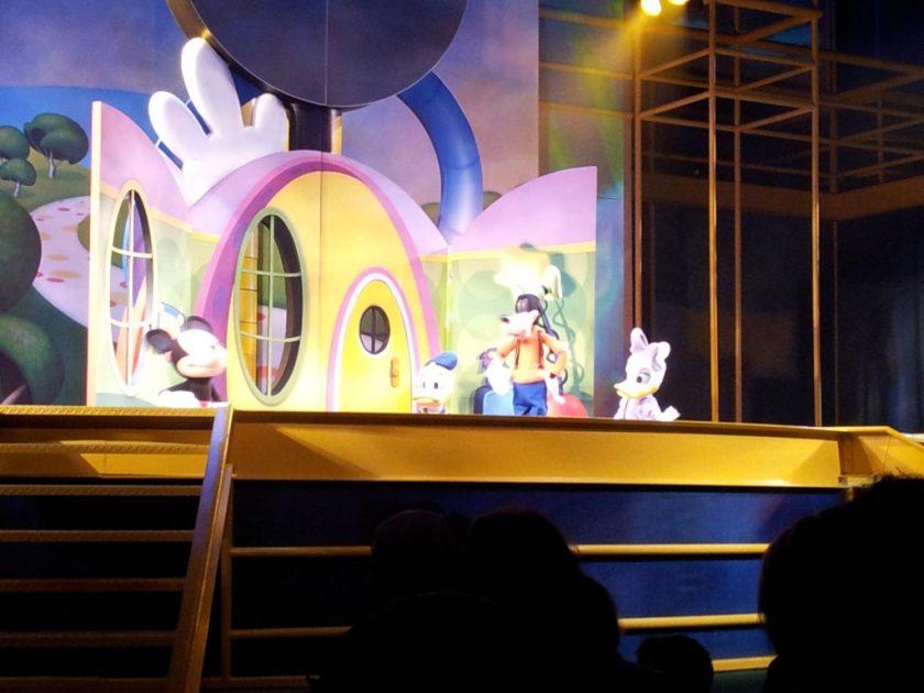 É a casa do Mickey Mouse da Disney