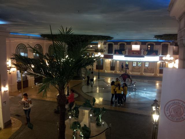 Vista parcial da Cidade Kidzania