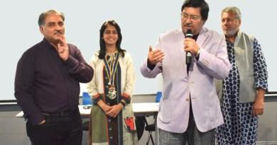 A mock Indian Parliament for Rotaractors