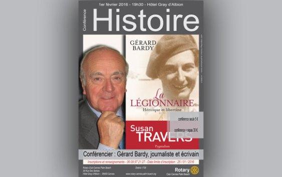 """Conférence """"Gérard Bardy"""""""