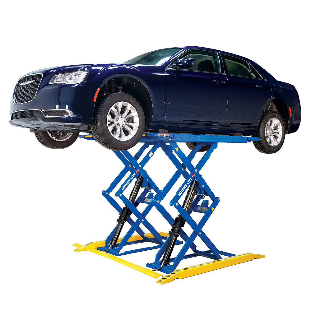 In Ground Garage Car Lift Rlp77