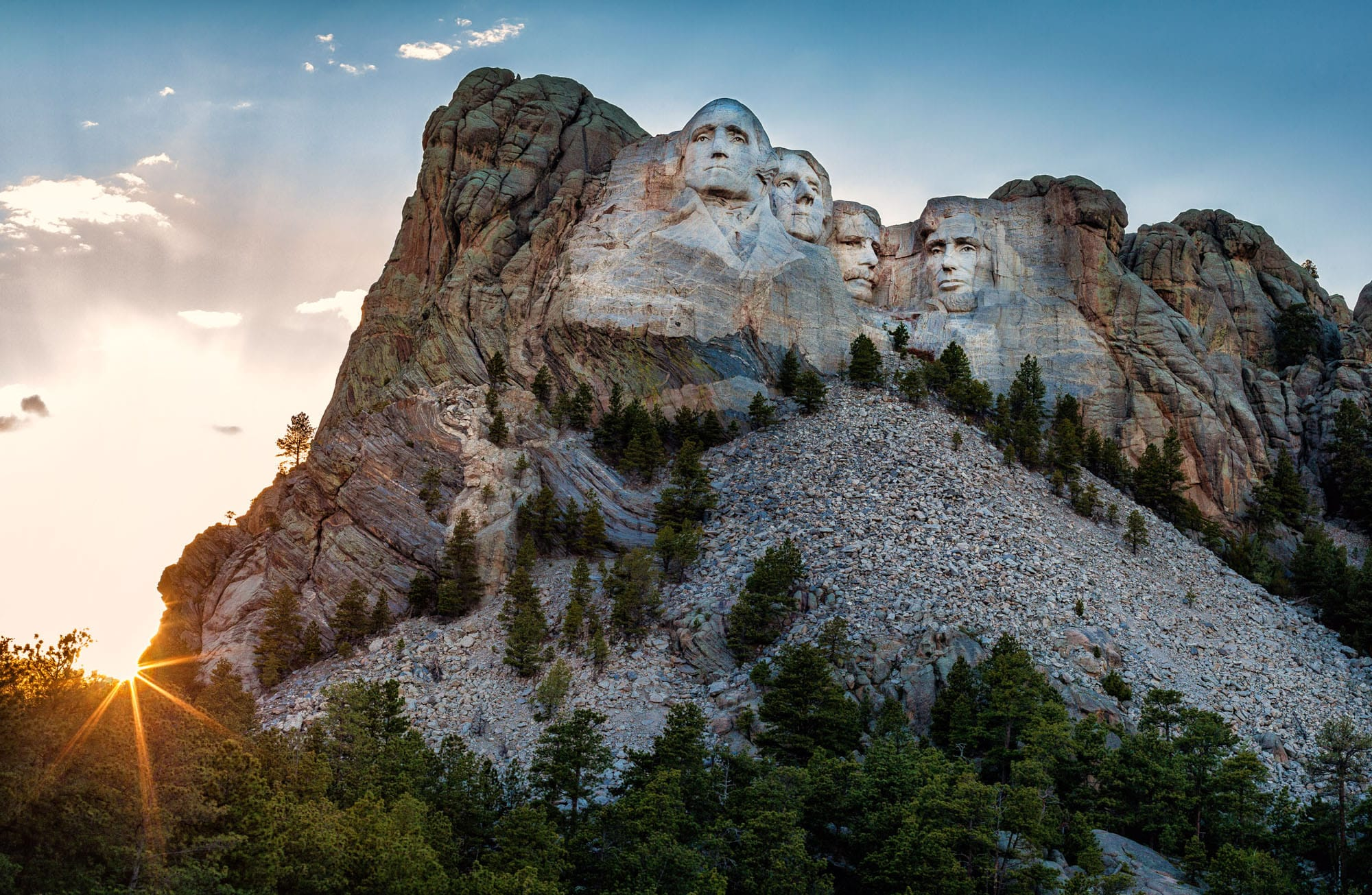 Rucksack Rot Mt. Rushmore National Memorial – Great Faces, Great Places