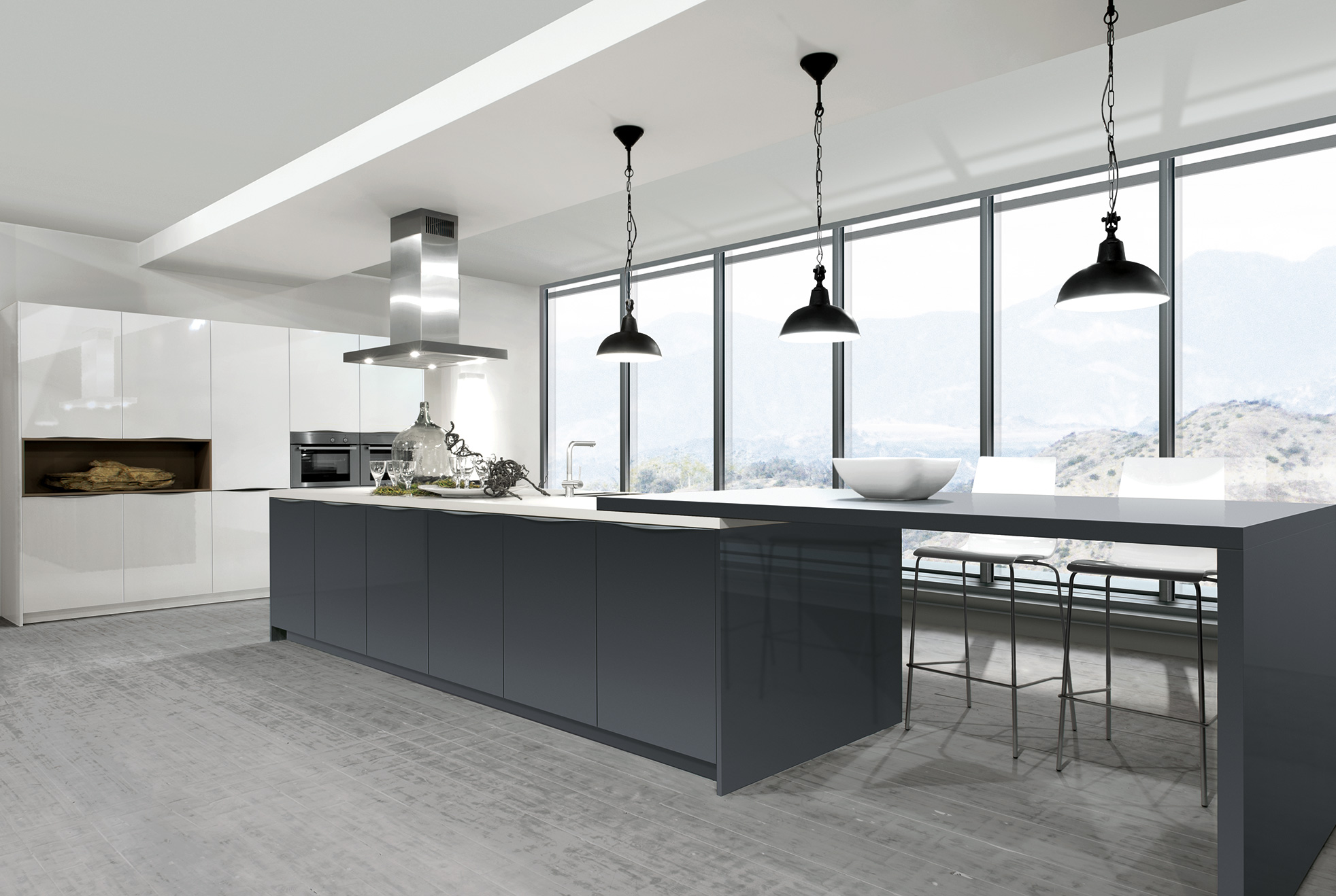 Arbeitsplatte Küche Schwarz 3m Rotpunkt Kitchens Uk High End Bespoke Kitchens