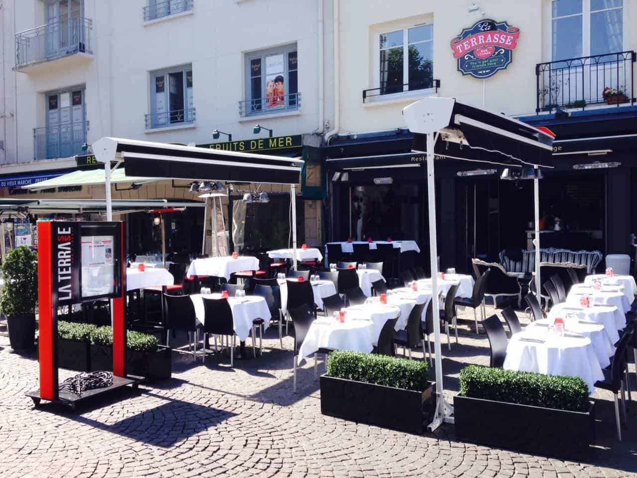 Terrasse De Normandie La Terrasse Rouen Restaurants Traditionnels Normandie