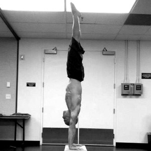 Yuval Ayalon Straight Handstand