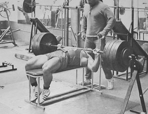 Franco Columbu Bench Press