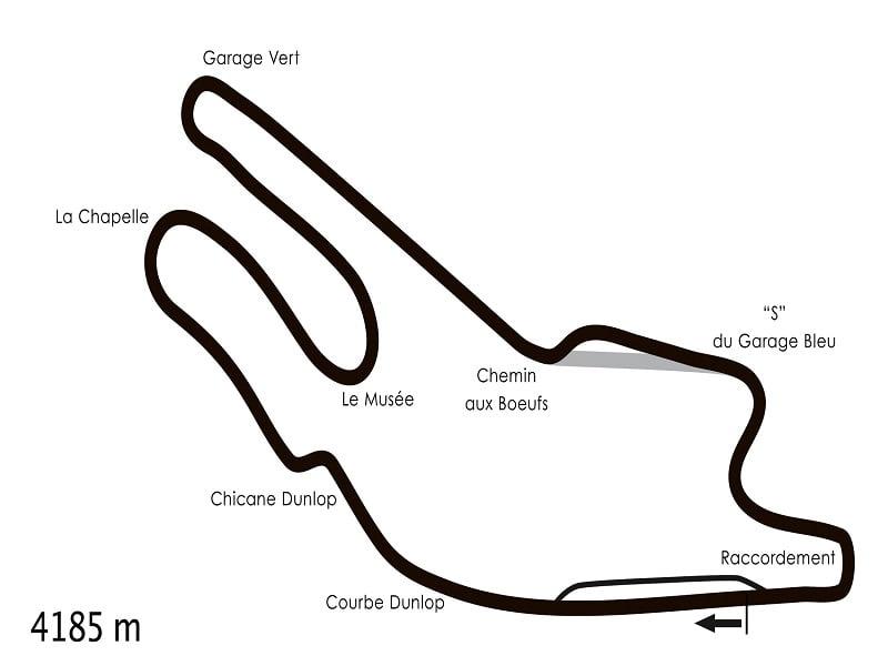 1- circuits Bugatti - lemans
