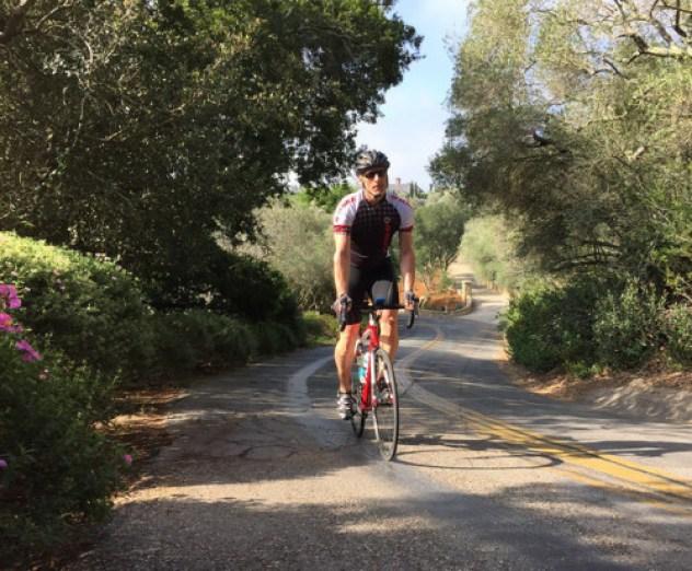 Trek Travel Bike Vacation review Dwayne hill climb
