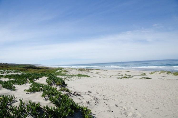 Trek Travel bike vacation review white sand beach