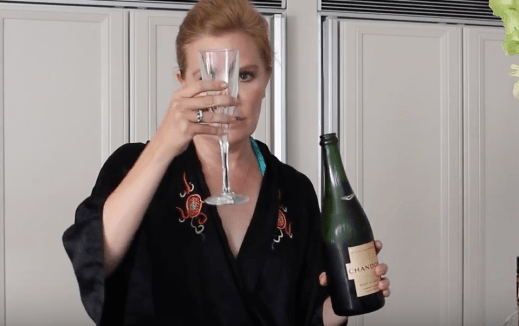 My boozy champagne cocktail recipe Absolutely Fabulous the movie