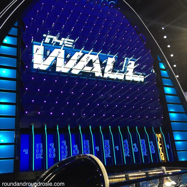 The Wall NBC's Family friendly TV game show | roundandroundrosie.com