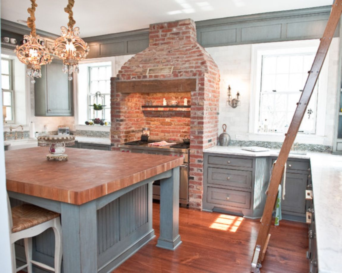 Kitchen Brick Wall 80 Creative And Cute Exposed Brick Kitchen Ideas Round Decor