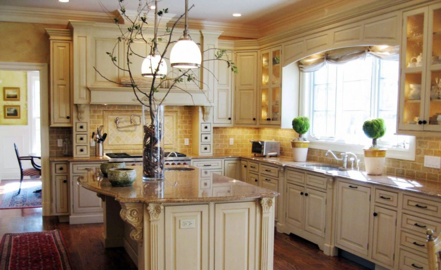 Images Of Painted Kitchen Cabinets 67 Modern Cream Painted Kitchen Cabinets Ideas Round Decor
