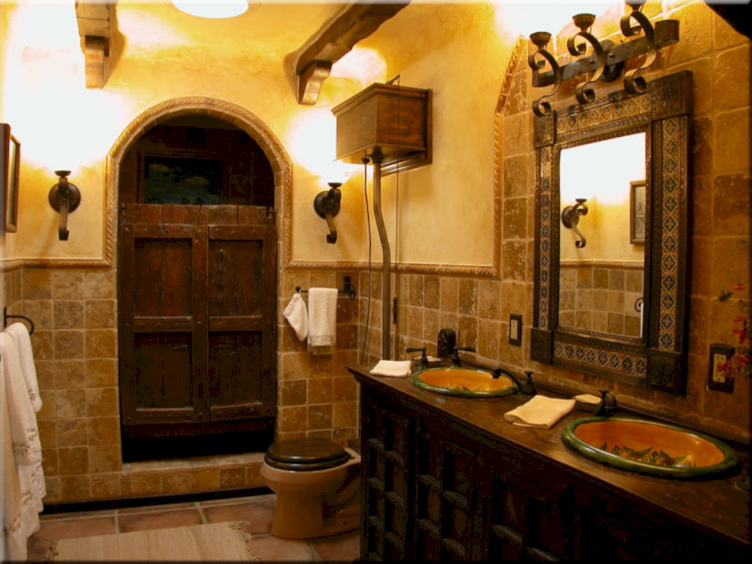 Themed Bathrooms Ideas 52 Mediterranean Themed Bathroom Designs Ideas Round Decor
