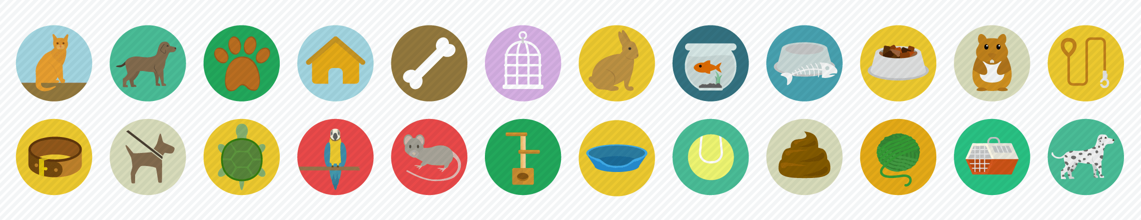 Pets_Flat_Icons