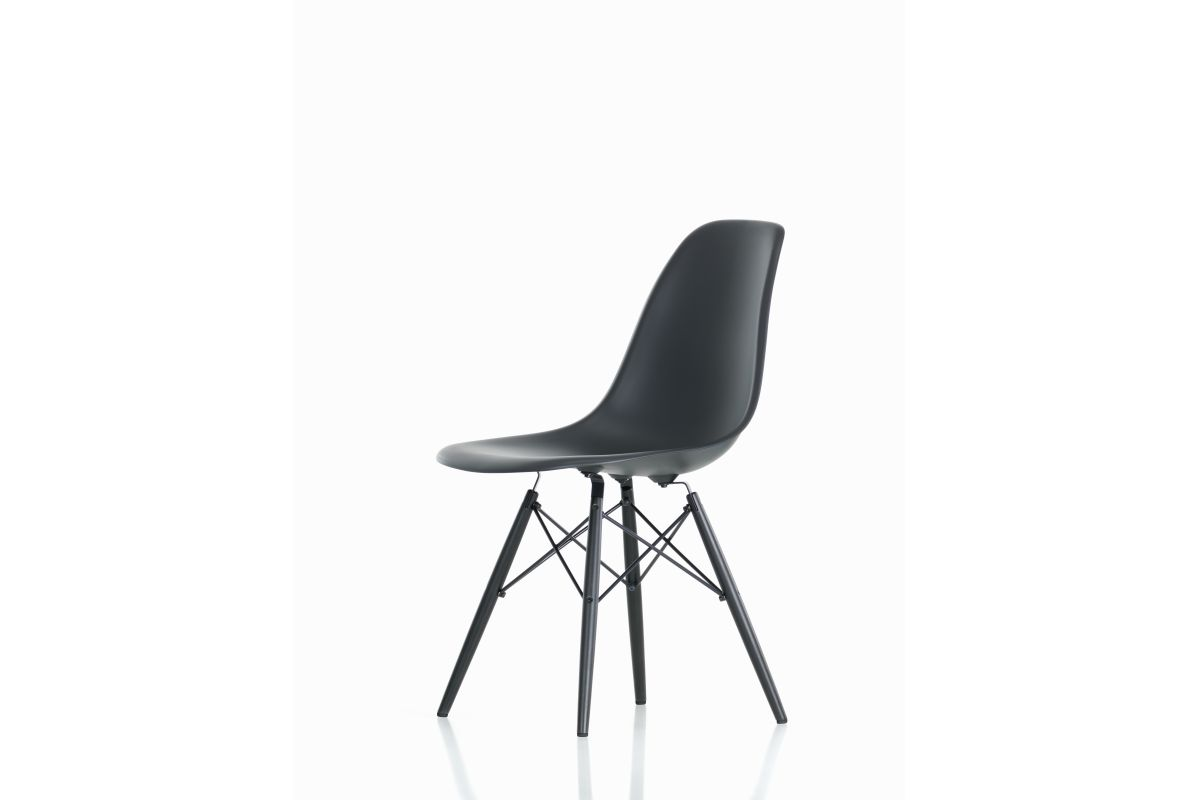 Chaises Actuelles Vitra Eames Plastic Side Chair Dsw Round Office