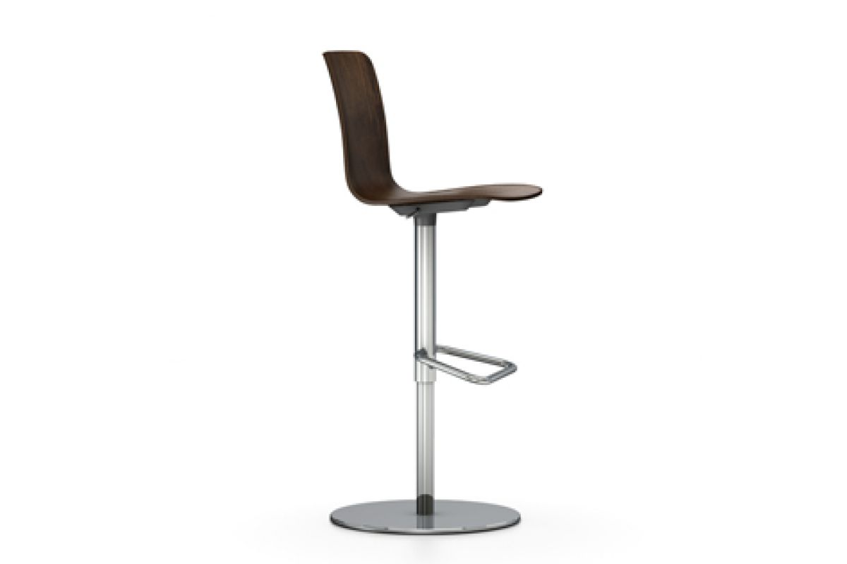 Tabourets Vitra Vitra Hal Ply Barstool Round Office Mobilier De Bureau