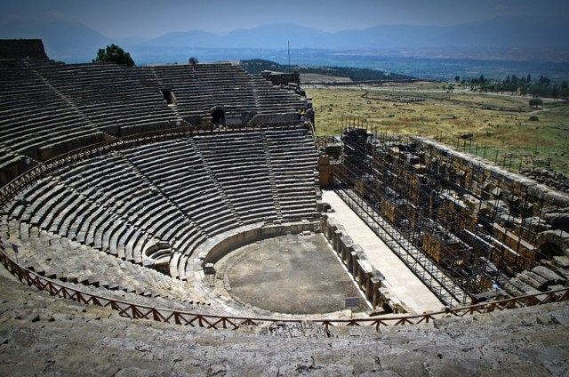 Hierapolis - the Theatre