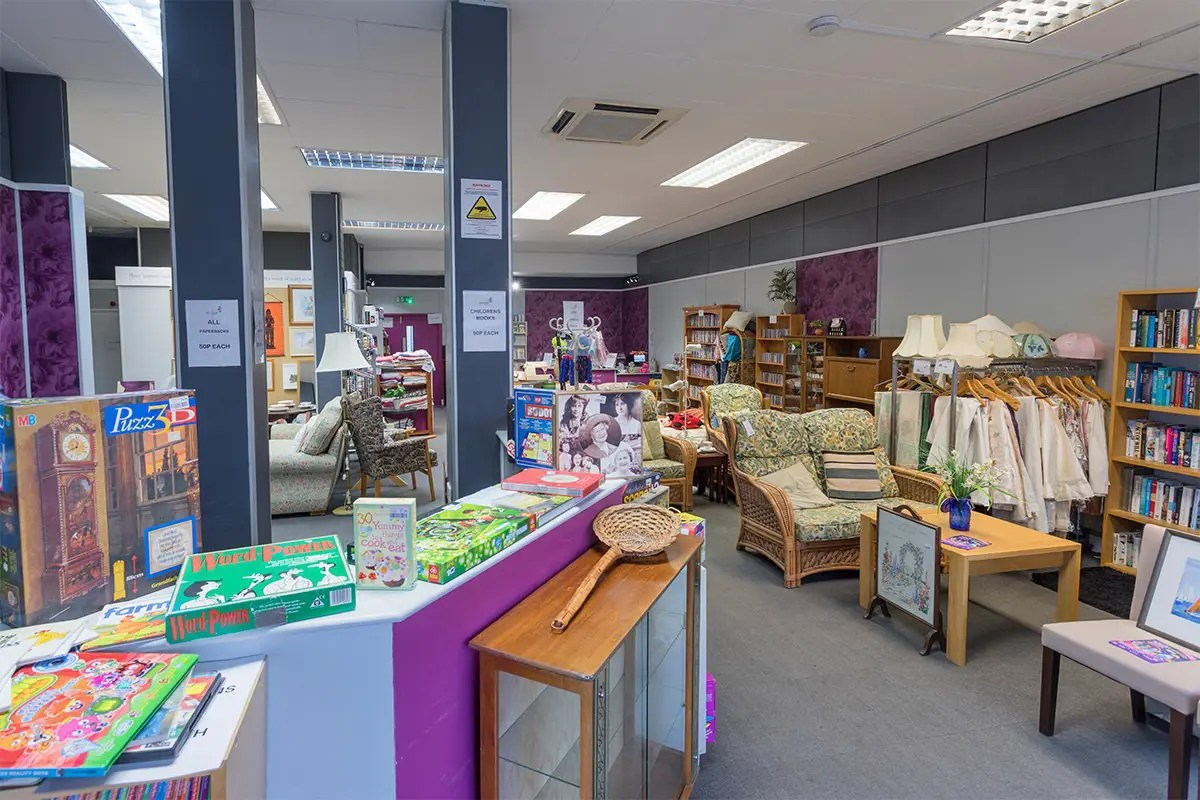 Paignton Furniture Clearance Outlet Rowcroft Hospice
