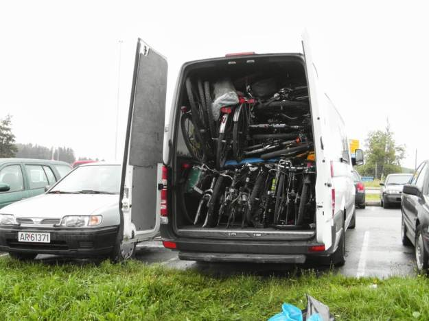 20-kilka rowerów na pace :) Foto: Michał Netzel