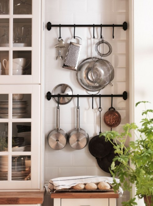 Slimme Opbergers Keuken Sunday At Home – Organizing With Towel Rods | Rowe