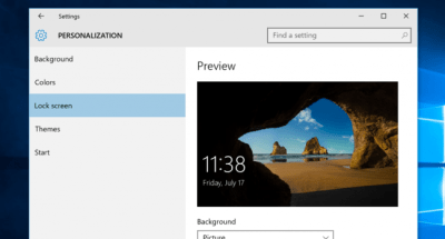 How to Easily Customize your Windows 10 Lock Screen - Fix My PC Error