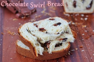 Chocolate Swirl Bread | roxanashomebaking.com