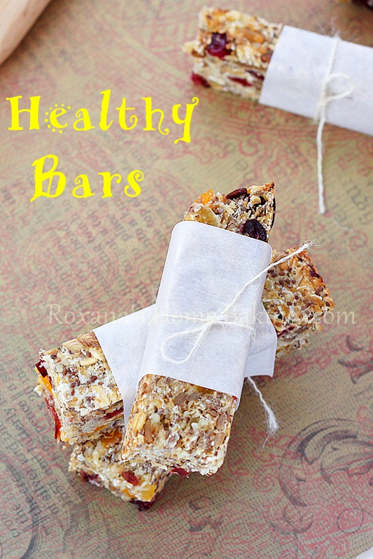 healthy snack bars | Roxanashomebaking.com