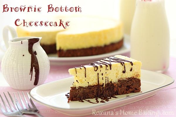 Brownie Bottom Cheesecake Cream Cheese Brownie Bottom Cheesecake