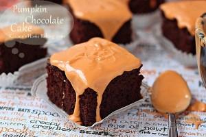 Pumpkin chocolate cake roxanashomebaking 5