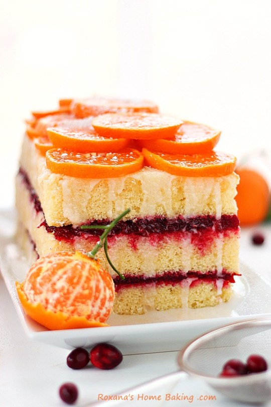 Citrus Cranberry Layered Cake Recipe Roxanashomebaking 5
