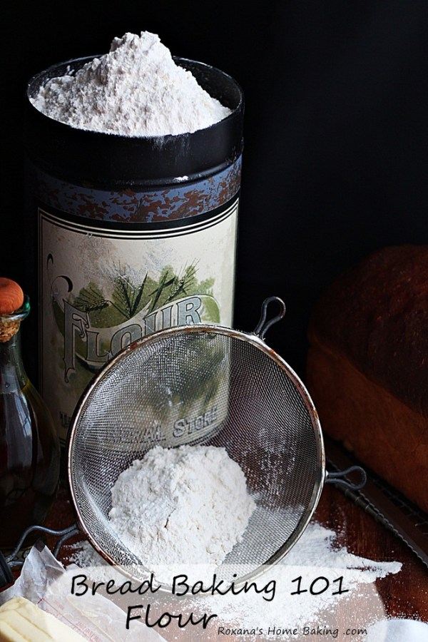 Bread Baking 101 - everything you need to know about wheat flours and how to accurately measure flour from Roxanashomebaking.com