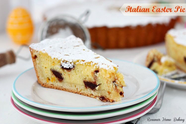 brings a sweet ricotta pie with ricotta and chocolate sweet ricotta ...