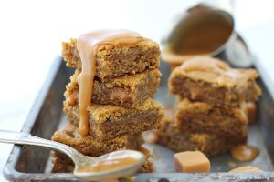 caramel blondies recipe 3
